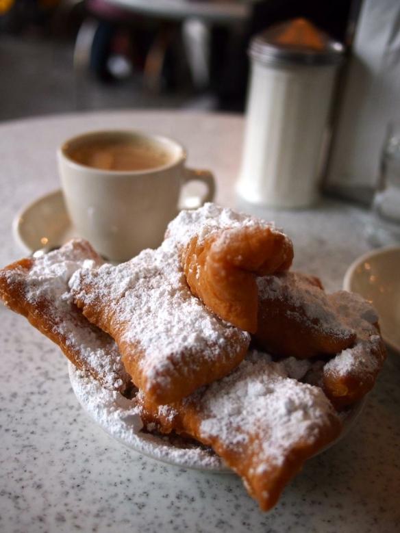 New Orleans, Cafe du Monde, beignets