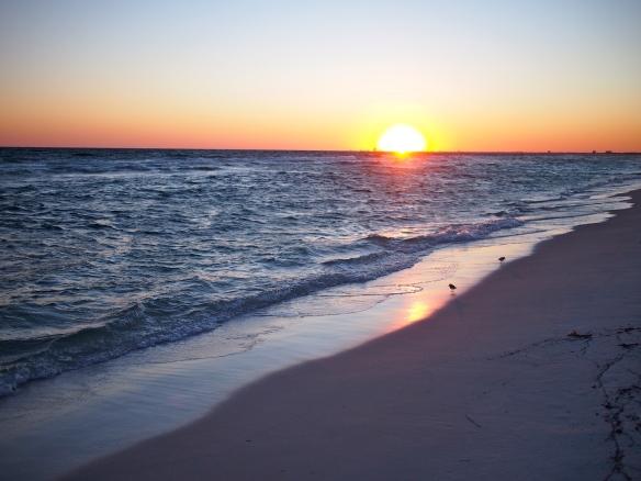 Pensacola Beach, sunset, Florida