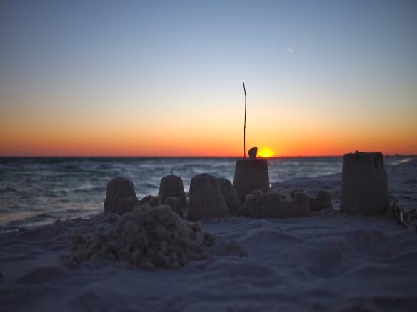 Pensacola Beach, Forida, sunset