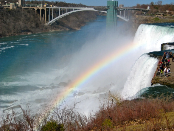Niagara Falls, Rainbow Bridge