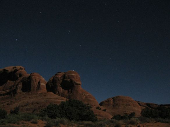 Arches National Park, Arches Campground, Arches at Night