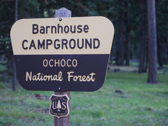 Camping, boondocking, Eastern Oregon, Ochoco National Forest