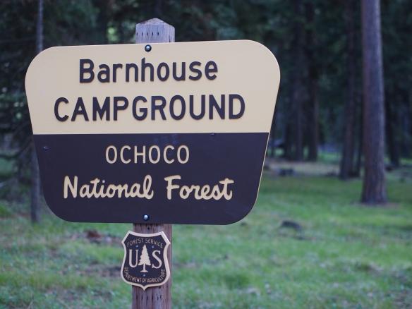 Camping, boondocking, Eastern Oregon, Ochoco National Forest